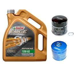 *Pack* Vidange moteur CASTROL EDGE Titanium FST  SUPERCAR 10W60