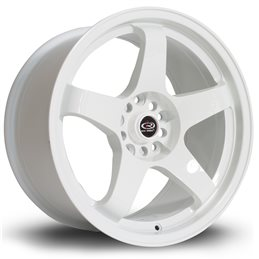 "Rota GTR 17x9.5"" 5x114.3 ET12, Blanc"