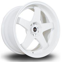 "Rota GTR-D 18x10"" 5x114.3 ET12, Blanc"