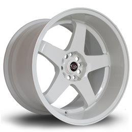 "Rota GTR-D 18x12"" 5x114.3 ET20, Blanc"
