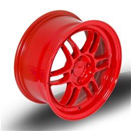 "Rota TFS3 15x7"" 4x100 ET38, Rouge"