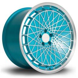 """Rota RM100 18x9.5"""" 5x100 ET23, Bleu"""