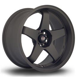 """Rota GTR-D 18x10"""" 5x114.3 ET12, Noir Mat"""