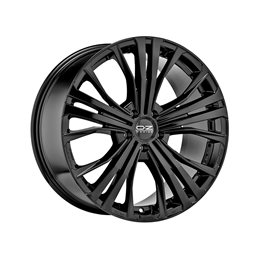 "OZ Cortina 20x9.5"" 5x130 ET52, Noir Brillant"