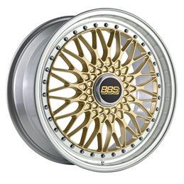 """BBS Super RS 19x8.5"""" 5x112 ET48, Doré (RS565)"""