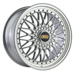 """BBS Super RS 19x8.5"""" 5x112 ET48, Gris Argenté Brillant (RS565)"""