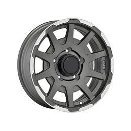 """Sparco Dakar 16x5.5"""" 5x139.7 ET5, Gris Anthracite, Rebord Poli"""