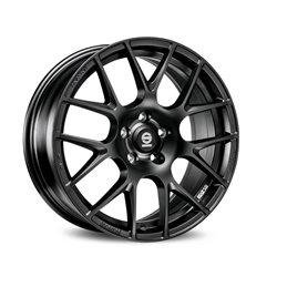 """Sparco Pro Corsa 17x7.5"""" 5x120 ET43, Noir Mat"""