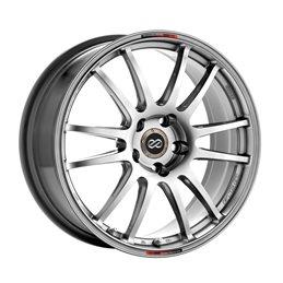GTC01 17x7 38 4x100 75, Hyper Black