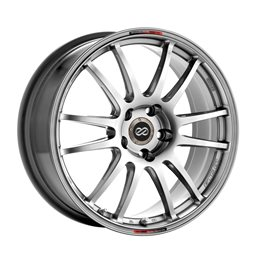 GTC01 17x7 50 4x100 75, Hyper Black