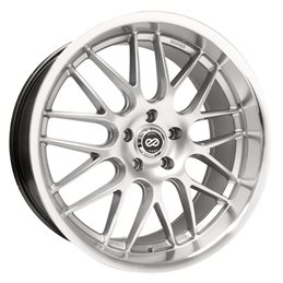 LUSSO 18x7.5 42 5x100 72.6, Hyper Silver