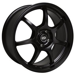 GT7 17x7.5 42 4x100 72.6, Noir