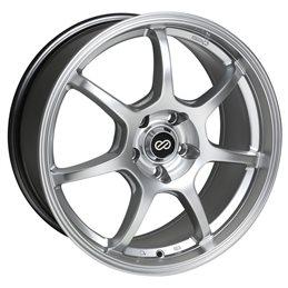 GT7 17x7.5 42 4x100 72.6, Hyper Silver