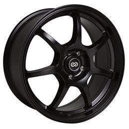 GT7 17x7.5 45 5x100 72.6, Noir