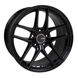 TY5 18x8 50 5x114.3 72.6, Noir Brillant