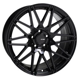 TMS 17x8 45 5x100 72.6, Noir Brillant