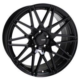 TMS 18x8 45 5x112 72.6, Noir Brillant