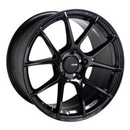 TS-V 17x8 45 5x100, Noir Brillant