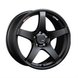 SSR GTV01 18x9.5 5x114.3 45mm Noir Mat S2000 / 11+ WRX / 08+ STI