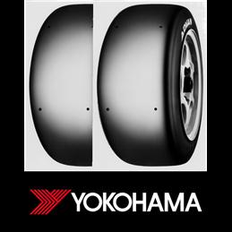 Pneus Compétition Yokohama Advan A005 190/530 R14 SUPER SOFT  x2 (paire)