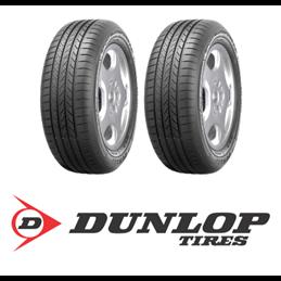 Pneus Dunlop BLURESPONSE 185/55 R14 80H x2 (paire)