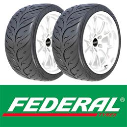 Pneus Federal 595 RS-RR XL 205/50 R15 89W x2 (paire)