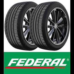 Pneus Federal COURAGIA F/X  XL 255/40 R20 101Y x2 (paire)