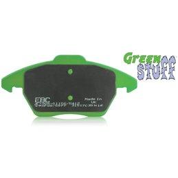 Plaquettes de Frein Avant EBC GreenStuff Civic 1.3 (EG3) Etriers standards de 1991 à 1995 (DP2890)
