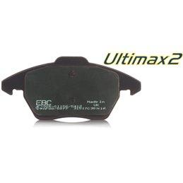 Plaquettes de Frein Avant EBC Ultimax Supra 3.0 Twin Turbo 17 pouces (MK4) de 1993 à 1997 (DP1004)