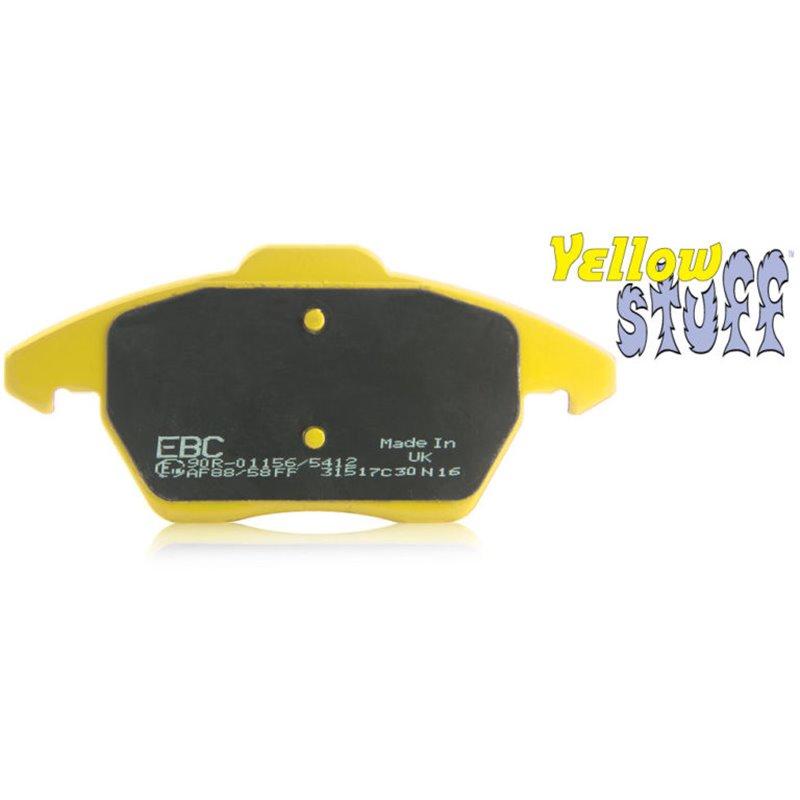 Plaquettes de Frein Avant EBC YellowStuff Supra 3.0 Atmo (MK4) de 1993 à 2001 (DP41223R)