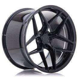 Concaver CVR2 20x10 ET45 5x112 Noir Platine
