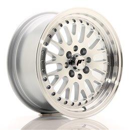 JR Wheels JR10 15x7 ET30 4x100/108 Argent Face Polie