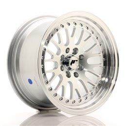 JR Wheels JR10 15x8 ET20 4x100/108 Argent Face Polie