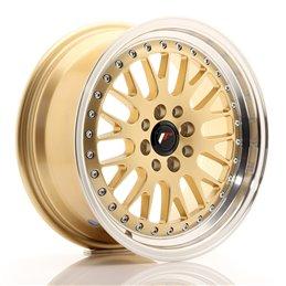 JR Wheels JR10 16x7 ET30 4x100/108 Or / Bord Poli