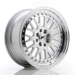 JR Wheels JR10 16x7 ET30 4x100/108 Argent Face Polie