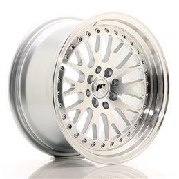 JR Wheels JR10 16x8 ET20 4x100/108 Argent Face Polie