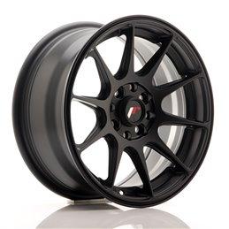JR Wheels JR11 15x7 ET30 4x100/114.3 Noir Satin