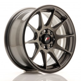 JR Wheels JR11 15x7 ET30 4x100/114.3 Hyper Gray