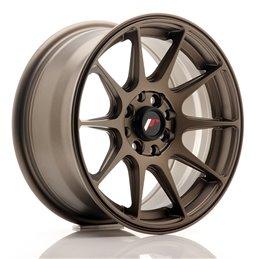 JR Wheels JR11 15x7 ET30 4x100/114.3 Bronze Mat