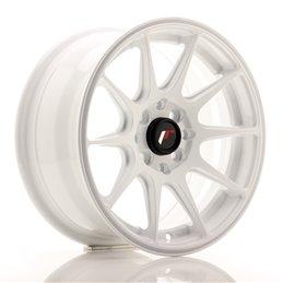 JR Wheels JR11 15x7 ET30 4x100/114.3 Blanc