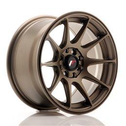 JR Wheels JR11 15x8 ET25 4x100/108 Bronze Mat