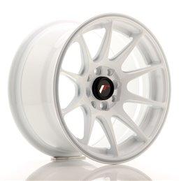 JR Wheels JR11 15x8 ET25 4x100/108 Blanc