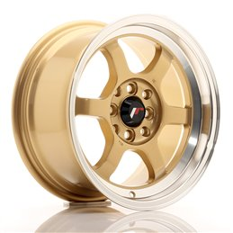 JR Wheels JR12 15x7.5 ET26 4x100/114.3 Or / Bord Poli