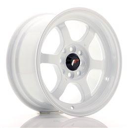 JR Wheels JR12 15x7.5 ET26 4x100/114.3 Blanc