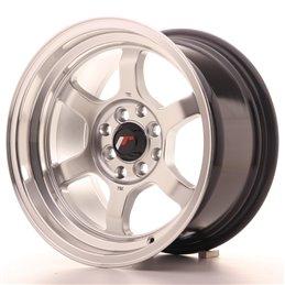 JR Wheels JR12 15x8.5 ET13 4x100/114.3 Hyper Silver / Bord Poli