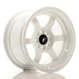 JR Wheels JR12 15x8.5 ET13 4x100/114.3 Blanc