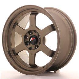 JR Wheels JR12 16x8 ET15 4x100/114.3 Bronze Mat