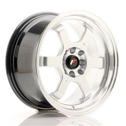 JR Wheels JR12 16x8 ET15 4x100/114.3 Hyper Silver / Bord Poli