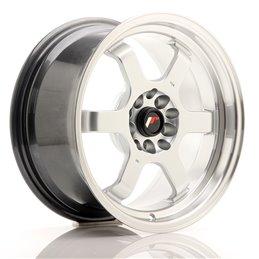 JR Wheels JR12 16x8 ET20 5x100/114.3 Hyper Silver / Bord Poli