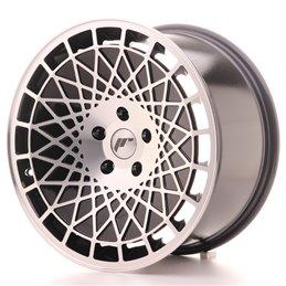 JR Wheels JR14 18x9.5 ET40 5x114.3 Noir Brillant Face Polie